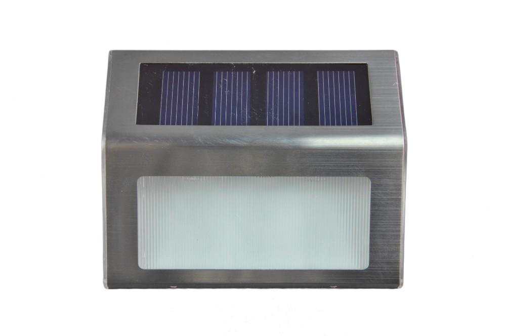 2pcsx waterproof led solar light lamps 2leds garden lights - Led solar jardin ...