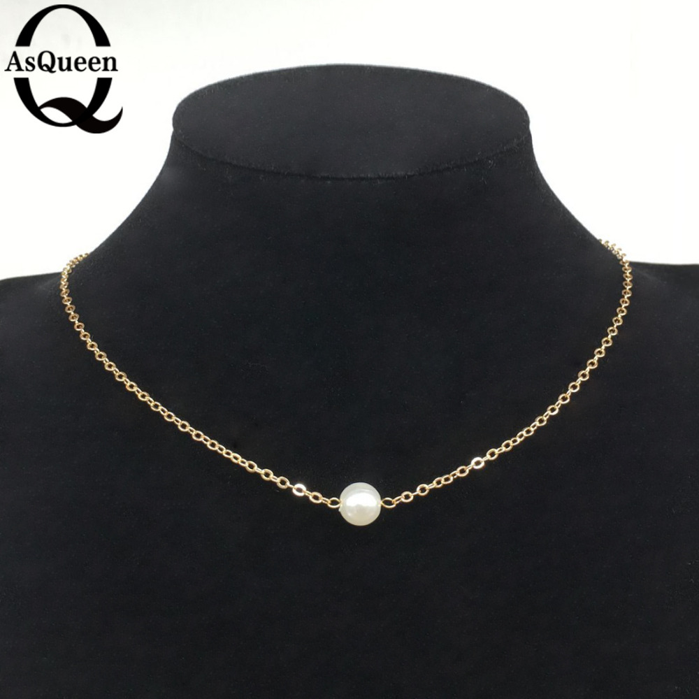 2016 Rushed Special Offer Pendant Necklaces Collares Fashion Simple Elegant Imitation Pearl Necklace For Women Fancy Jewelry(China (Mainland))