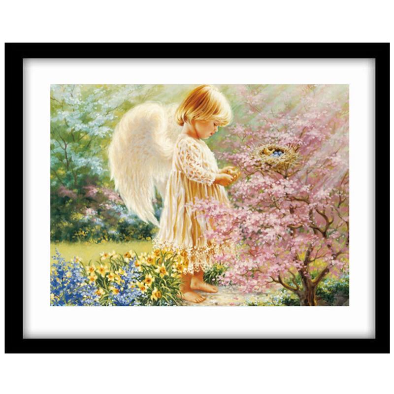 Наборы вышивка алиэкспресс ангелы