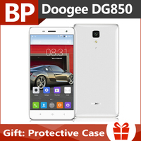 Original Doogee Hitman DG850 5 Inch HD IPS Android 4.4 Mt6582 Quad Core 3G Mobile Cell Phone 13MP CAM 1GB RAM 16GB ROM In Stock