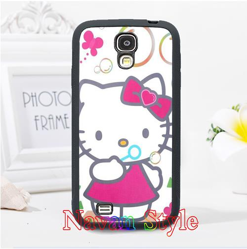 Hello Kitty hot-selling original cell phone case cover for Samsung Galaxy S3 S4 S5 Note 2 Note 3 s6 Note 4 #2343(China (Mainland))