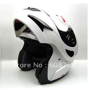 Free shipping! Wholesale Electric car helmet / motorcycle helmets /T200 White Warriors(China (Mainland))
