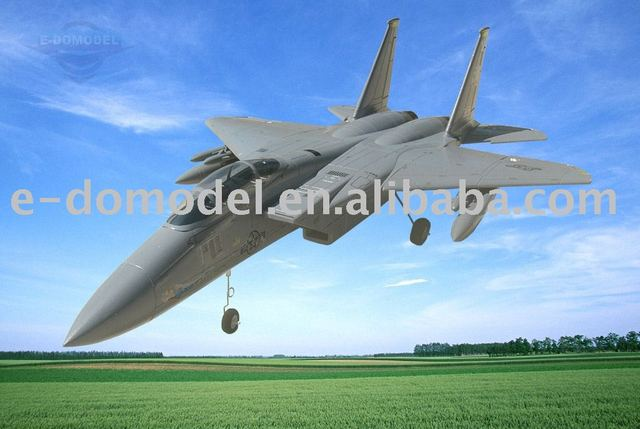 model toys, rc airplane F15 EAGLE with MISSILE & WFLY 4CH radio, HQ motor