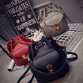 Free shipping Fashion 2016 all match bucket bag pu leather shoulder bag women s handbags