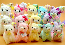 10pc/Lot Mixed Color 17cm Good Night Alpaca Japan Amuse Alpacasso Arpakasso Plush Stuffed Doll Kids Alpaca Christmas Gifts Toy(China (Mainland))