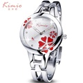 Women Watch Clover Famous Brand Ladies Fashion Stainless Steel Bracelet Quartz Watch Women Wrist Watches For