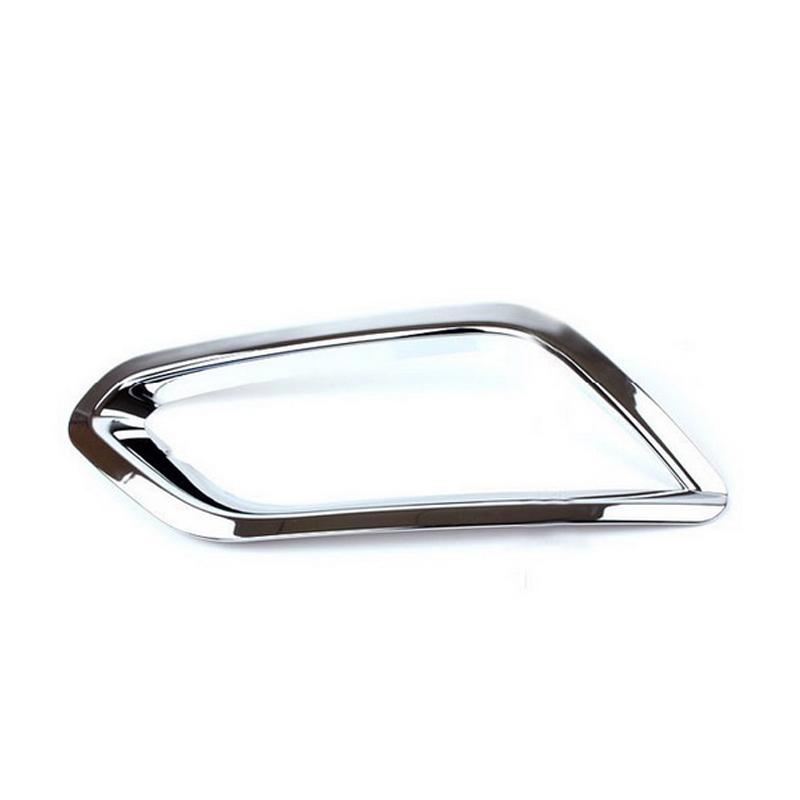 Front Fog Light Lamp Cover Trim Exterior Fit Encore OPEL VAUXHALL MOKKA 2013 2014 Chrome Per Set - Best Auto Parts From Factory store