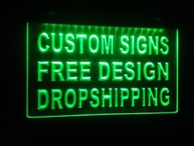 tm Sign Design Your Own LED Light Sign Custom Neon LED Signs Bar open Dropshipping(China (Mainland))