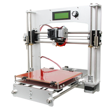 Upgraded  High Precision Aluminum frame  Reprap Prusa i3 DIY 3D Printer Kit with Free LCD Easy Assembly