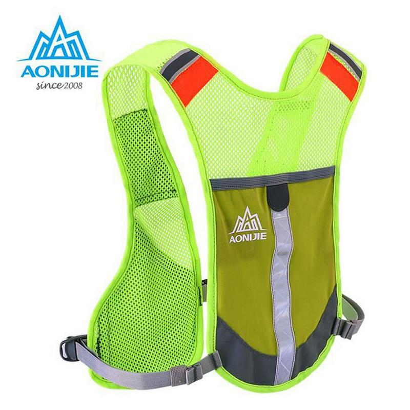 AONIJIE Sport Hiking Hydration Backpack Outdoor Ride Marathon Backpack Male Lightweight Vest Climbing Cycling Running Backpack(China (Mainland))
