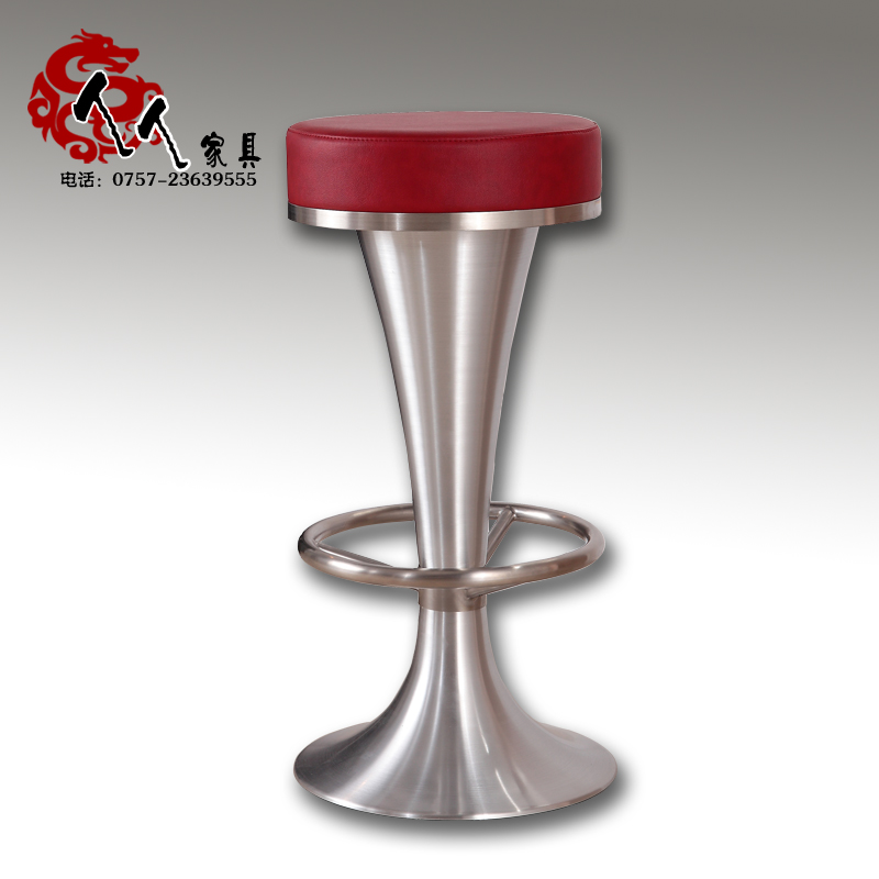Stainless steel bar stool high chair minimalist stainless chairs ktv 2014<br><br>Aliexpress