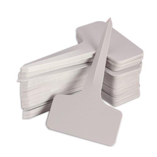 5pcs/lot 100/200/300/500 pcs 6 x10cm Plastic Plant T-type Tags Markers Nursery Garden Labels Gray (200pcs)<br><br>Aliexpress