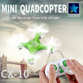 1 Piece Brand New Cheerson Mini Quadcopter CX 10 Mini RC Drone ABS Green Pink Blue