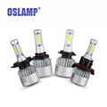 Oslamp Hi Lo Single Beam COB Chips LED Car Headlight Kits Auto Led Head Light Bulbs
