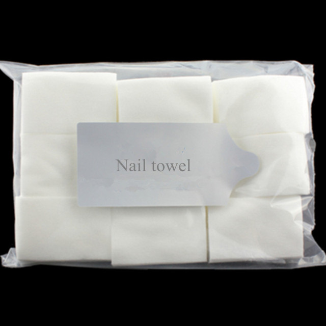 900pcs Pack Pro Lint Free Nail Wipes Cotton Pad Nail Polish Remover UV Gel Acrylic Tips Nail Tools Manicure SKU:F0072