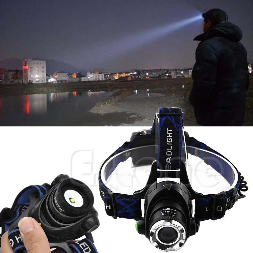 Налобный фонарь 2000 LM CREE XML xm/l T6 D9407 налобный фонарь headlight flashlight 2000 cree xm l t6 xml 2 18650 4200mah led head light
