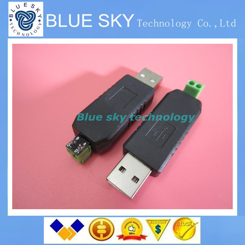 new USB to RS485 485 Converter Adapter Support Win7 XP Vista Linux Mac OS WinCE5.0(China (Mainland))