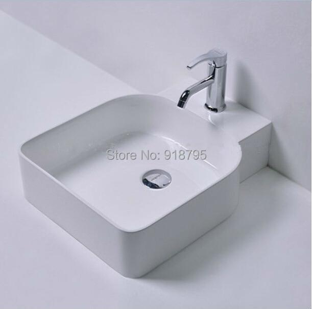 free shipping solid surface vessel sinks wash basin bathroom art basin RS38177<br><br>Aliexpress