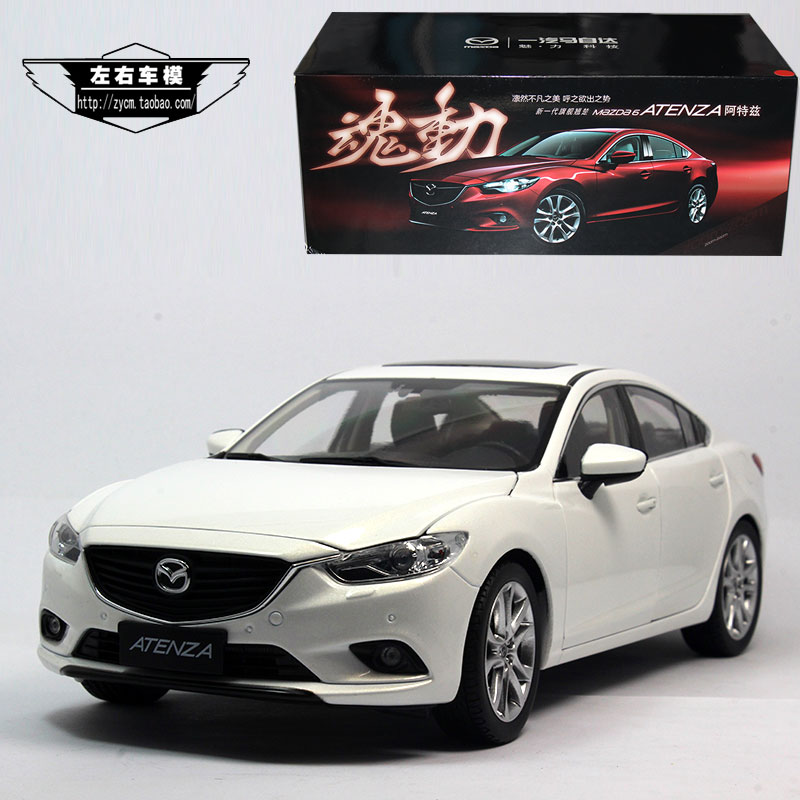 The original 1:18 ATENZA a Tezi FAW Malaysia 6 Mazda 6 2014 alloy model cars(China (Mainland))