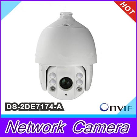 Hikvision DS-2DE7174-A 1.3MP HD Network IR Speed Dome IR PTZ outdoor dome camera DS-2DE7174-A<br><br>Aliexpress