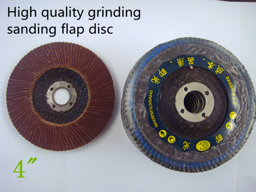 4 100mm 320 grit grinding sanding flap dic 10pcs 1lot use for grinder last long quality