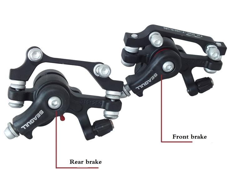 MTB mountain bike Bicycle cycling disc brake pad rotor caliper bicycle brake lever 160MM(China (Mainland))