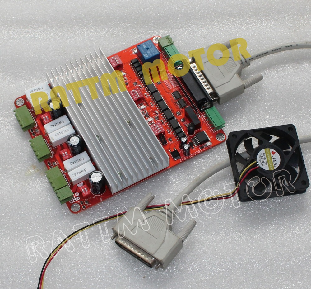 Buy 3 Axis Cnc Controller Tb6560 Stepper Motor Driver Board V Type From