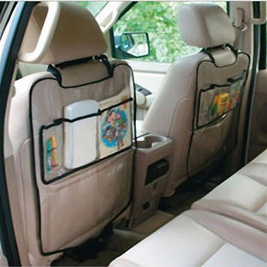 Car Auto Seat Back Protector Cover For Children Kick Mat Storage Bag car-styling car-styling(China (Mainland))