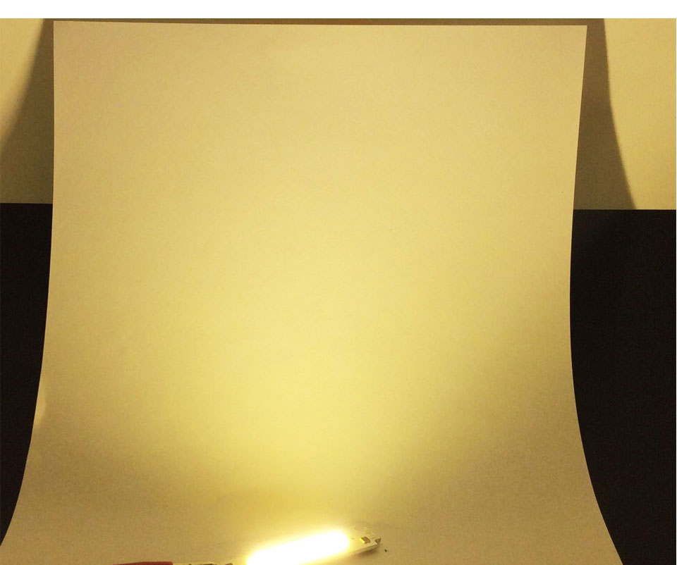 COB LED Module White Yellow Orange Green Blue Red Purple 60x15mm 2W DC 12V DIY LED Chip Matrix Lamp Bulb 60MM Lights (10)