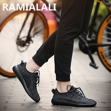 Men Shoes 2016 Yeezy Fashion Breathable Lightweight Shoes Superstar Male Shoes Lacing Flats No Logo Zapatillas Deportivas Hombre(China (Mainland))