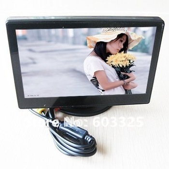 "Retail sales 4.3"" TFT LCD Auto Car RearView Monitor Fit all CCTV camera,with retail box"
