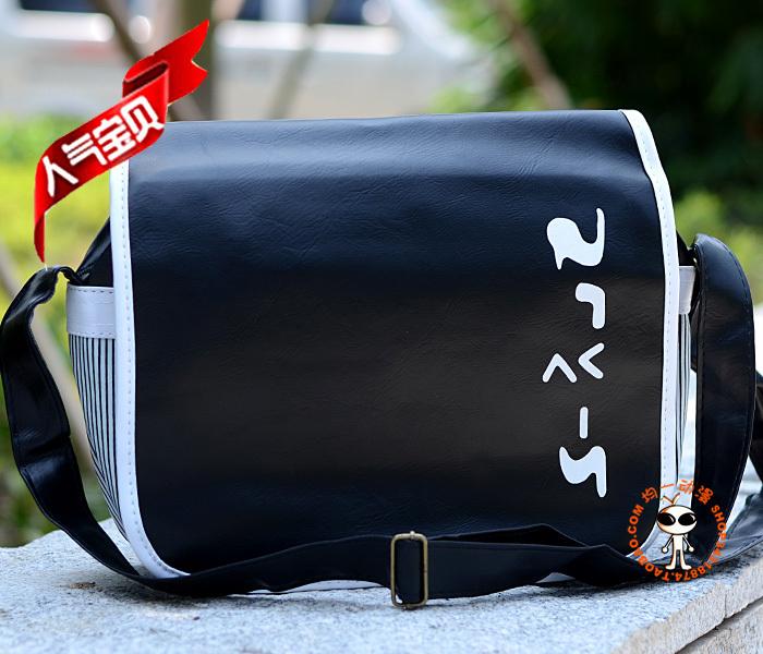 Japan anime Death Note leather shoulder bag cartoon Messenger Bag HOT SALE school bag(China (Mainland))