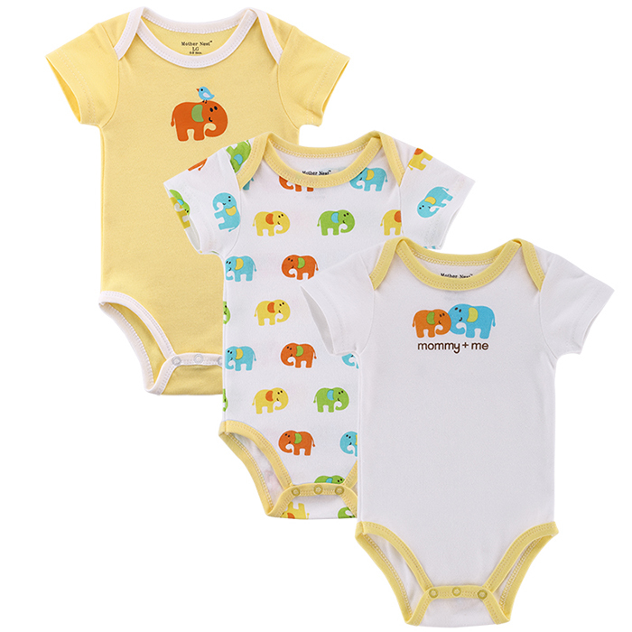 3pcs/lot Baby Boy Girl Clothes Short Sleeve Leopard Print 2015 Summer Baby Romper Newborn Next Jumpsuits & Rompers Baby Product(China (Mainland))
