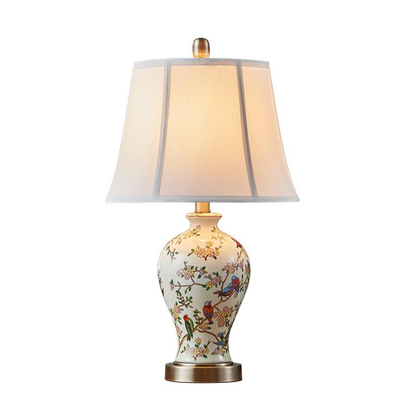 Achetez en gros chinois porcelaine lampe en ligne des - Table pastorale de la bible en ligne ...
