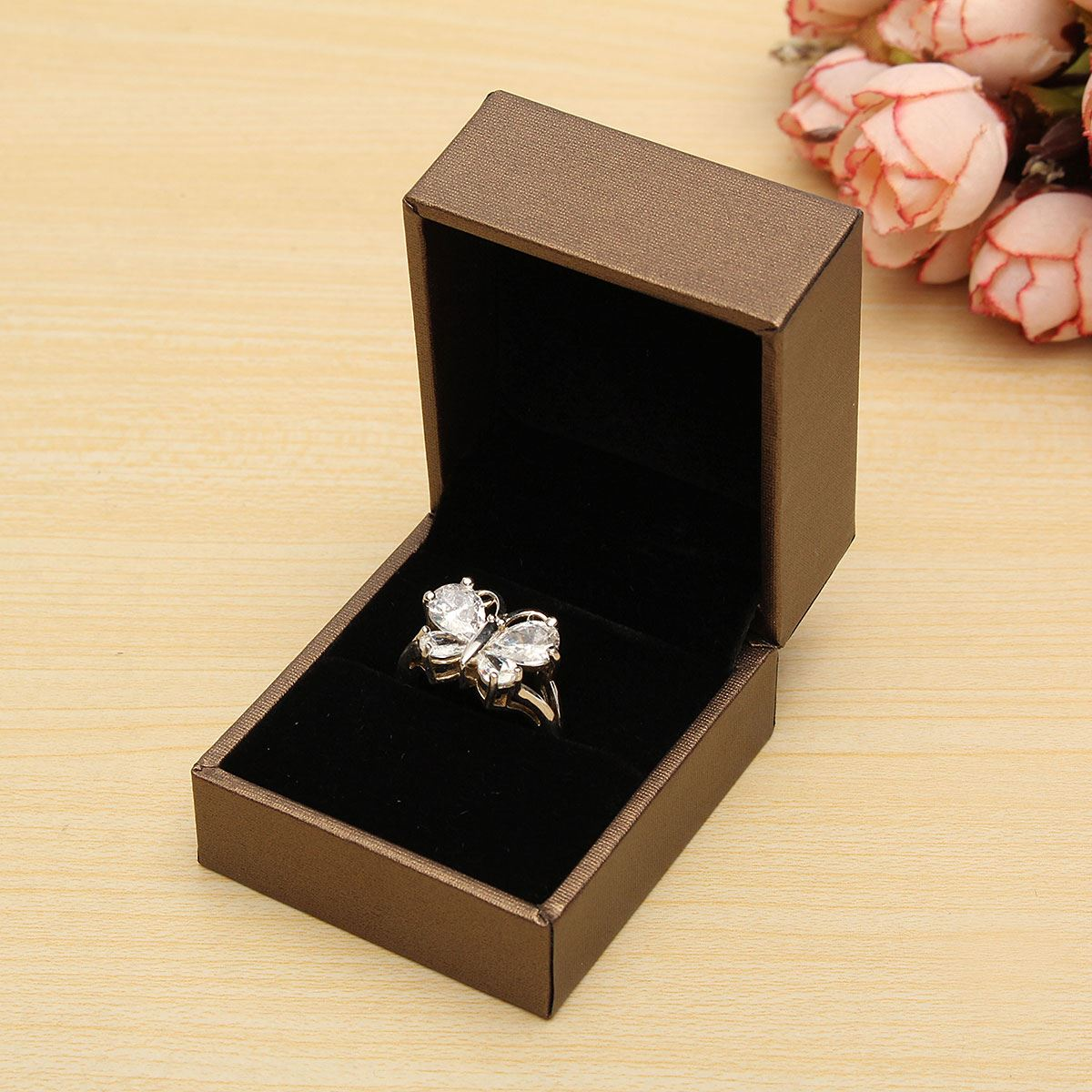 Wedding Gift Storage Box : New Jewelry Packaging Gift Storage Box Wedding Bracelet Earrings Ring ...