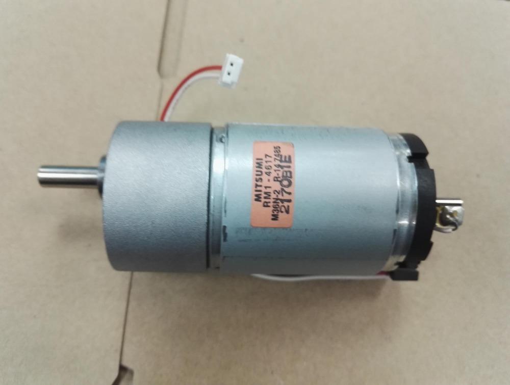 Import 37ga Gear Motor Big Torque Motor Double Output