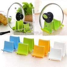 1PCS Plastic Kitchen Pot Pan Cover Lid Shell Stand Shelf Holder Rack Cooking Tool Hot Selling(China (Mainland))