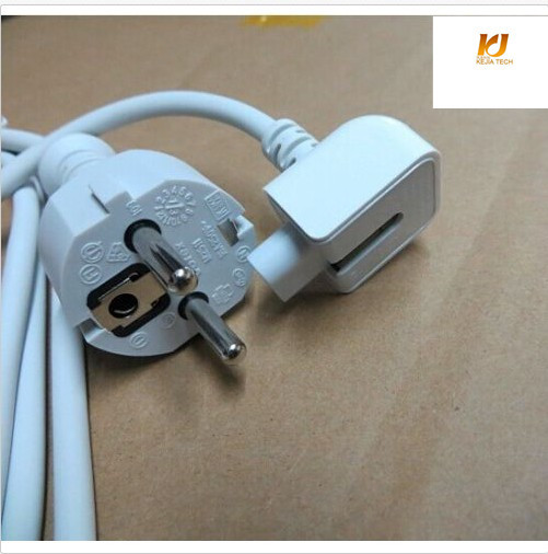 Free shipping original Europe Eu Plug 1.8M AC Power Adapter Extension Cable Cord for App Macbook pro ipad Air Charger Adapter(China (Mainland))