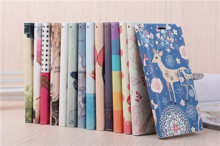 Luxury Leather PU Flip Case Xiaomi Redmi Note 5.5 inch Stand Cover Mobile Phone Cases Hongmi - Lucky baby Star store
