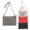 2017 Casual Water Wash Envelope Bags Women Shoulder Bag Leather Messenger Fashion Handbag Zipper Handbags Crossbody