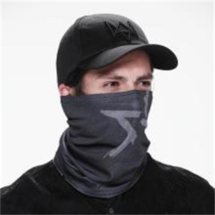 Cool mens Cosplay For Aiden Pearce Watch Dogs Face MASK Neck Warmer Video Game(China (Mainland))