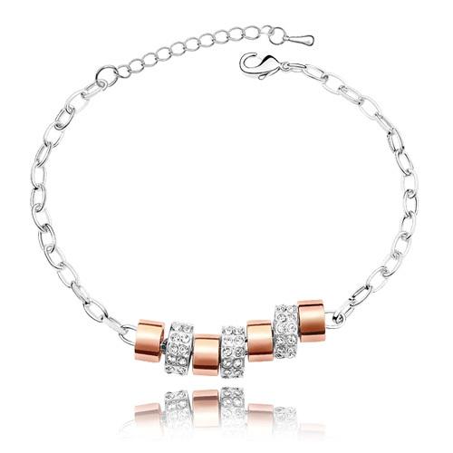 Free shipping Fashion Round Circle Ring Bracelet,love-sick women gift,alloy crystal jewelry,man made diamond,hand chain,HOT S006(China (Mainland))