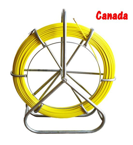 Fish Tape Electric Reel Wire Cable Running Rod Duct Rodder Fishtape Puller 6mm(China (Mainland))
