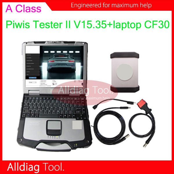 2015.06 Piwis II Tester 2 high quality Samtec VCI Newest version V15.35 with CF30 touch screen laptop one year warranty(China (Mainland))