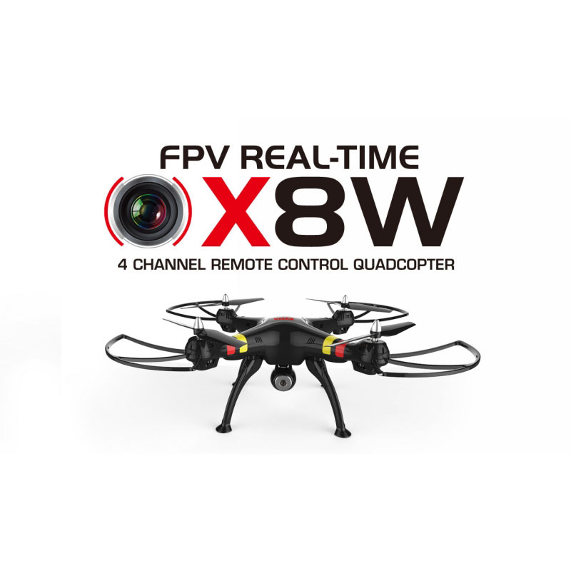 2015 New Version Syma X8W WiFi Real Time Video 2.4G 4ch 6 Axis Venture With 2MP