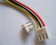 10 unids VH3.96 3.96mm 3 Pines Hembra y Macho de Conector 22AWG 200mm Lleva el Cable