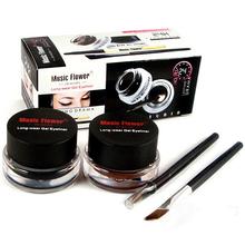 2015 Professional Black Waterproof Cosmetics Eye Liner Gel Eyeliner Pens Tool Set