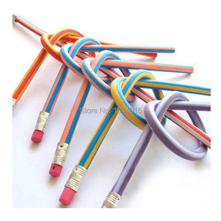 10pcs Colorful Magic Bendy Flexible Soft Pencil With