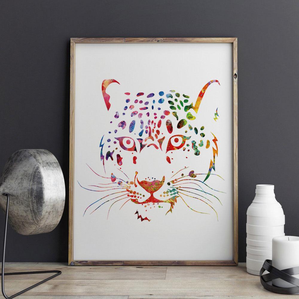 Online kopen wholesale luipaardprint room decor uit china ...