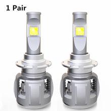 INLONG X70 H4 H7 H1 9005 9006 Car LED Headlight Bulb H11 H8 D1S D2S D4S hp Led Lamp Chip 120W 15600LM Headlamp Fog Lights 6000K(China)